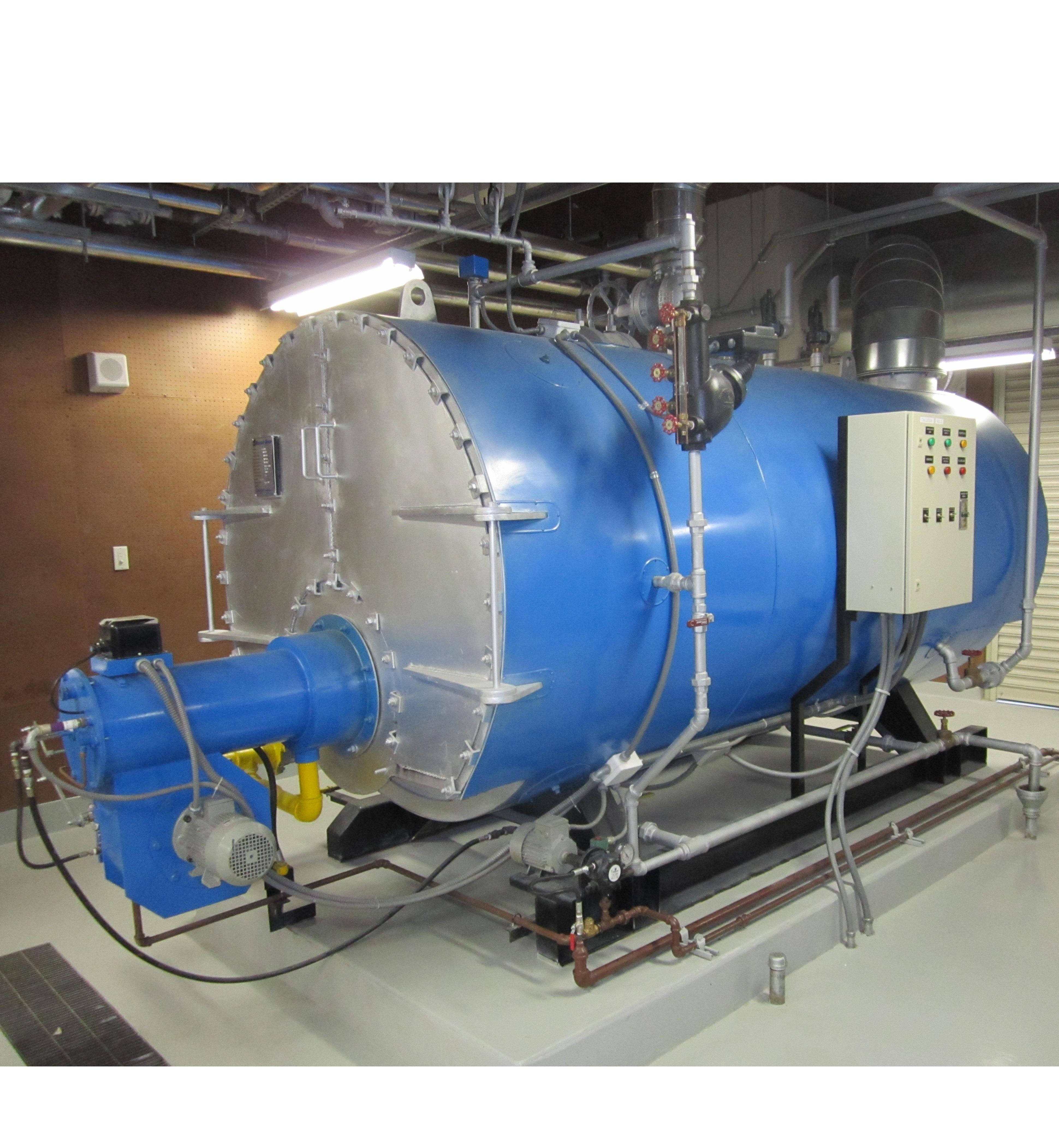 Calderas de Vapor Mercury Boiler<sup>®</sup>
