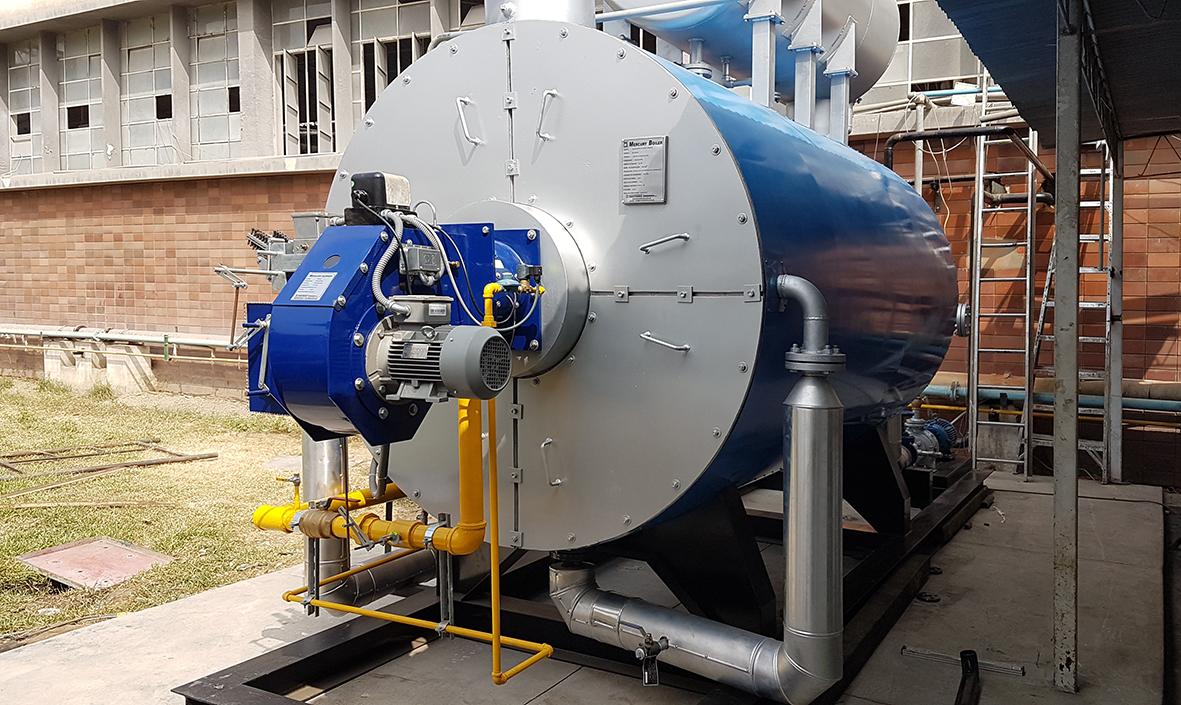 Calentador de Aceite Térmico a gas de 1500KW