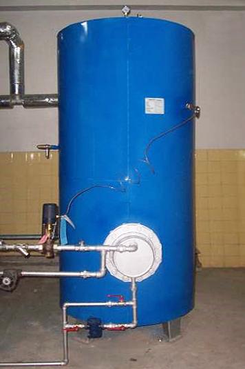 Calentador de Agua a Vapor