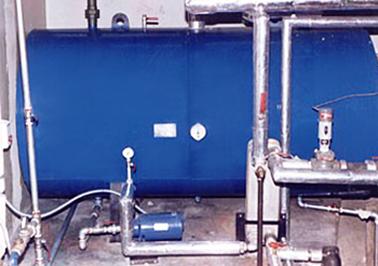 Calentador de Agua Con Intercambiador de Placas