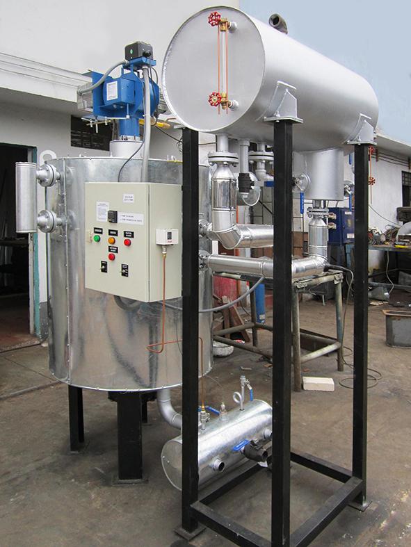 Calentador de Aceite Térmico Vertical