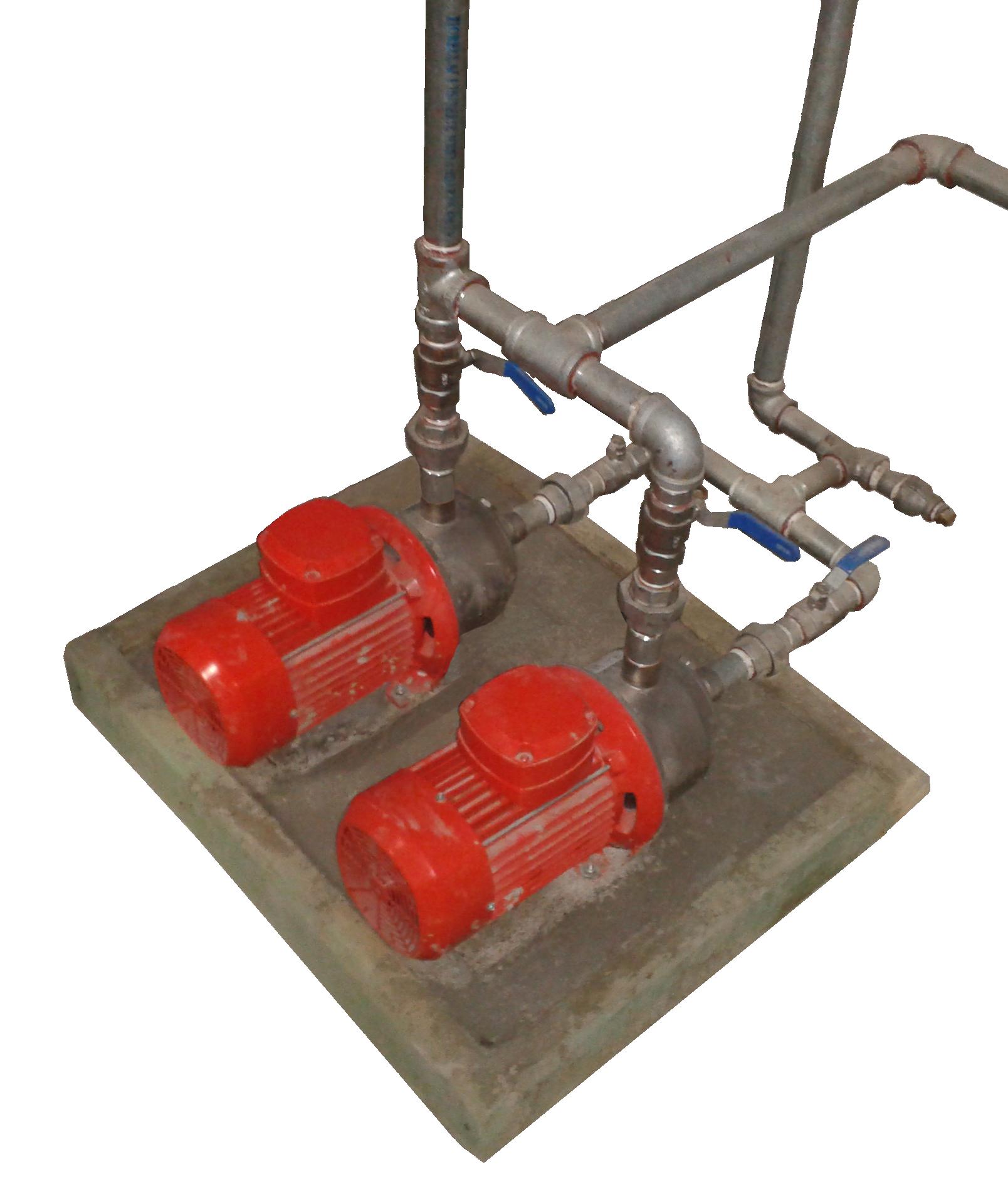 Bombas Alternadas de Retorno de Agua Caliente