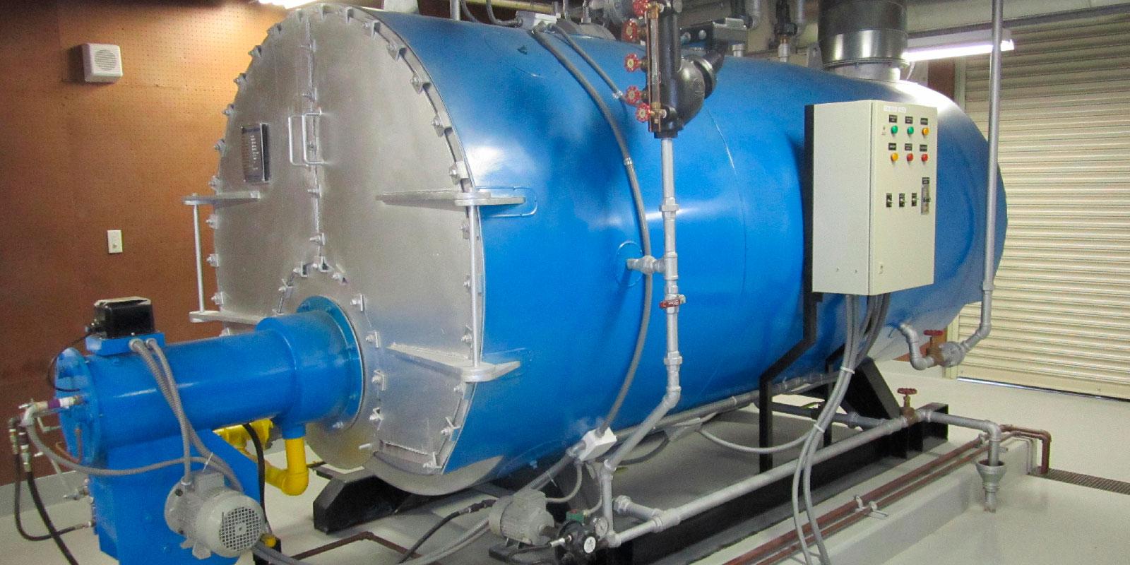 CALDERA DUAL DIESEL GAS DE 150 HP